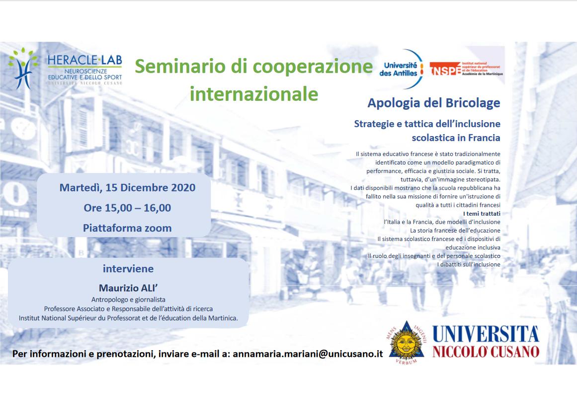 Seminario di cooperazioneinternazionale